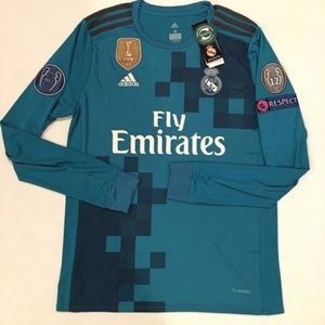 new products abf7a ae1e7 Real Madrid Cristiano Ronaldo Long Sleeve 2017/18 NWT